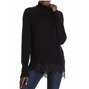 Brochu Walker Looker Lace Sweater (H)